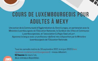 Cours de Luxembourgeois pour adultes à Mexy 🇱🇺
