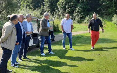 Visite du Golf intercommunal par le Président du Grand Longwy