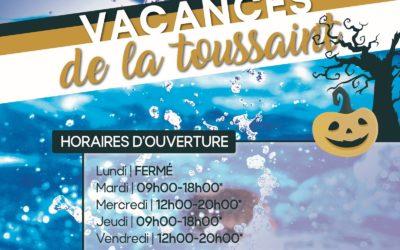 Osmose : les horaires pour les vacances de la Toussaint 🎃